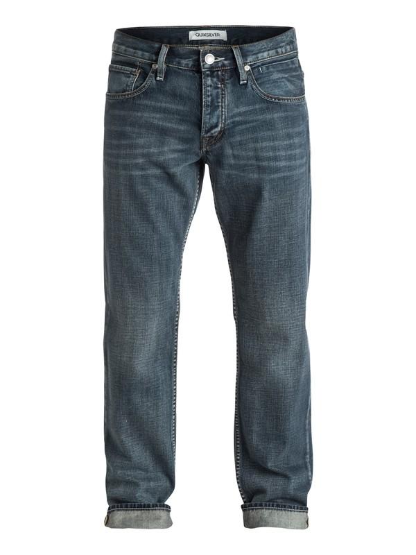 "0 Sequel Vintage Cracked 34"" Regular-Fit Jeans  EQYDP03095 Quiksilver"