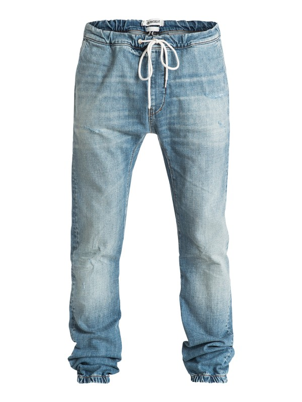 0 Fonic Denim Jogger Pants  EQYDP03117 Quiksilver