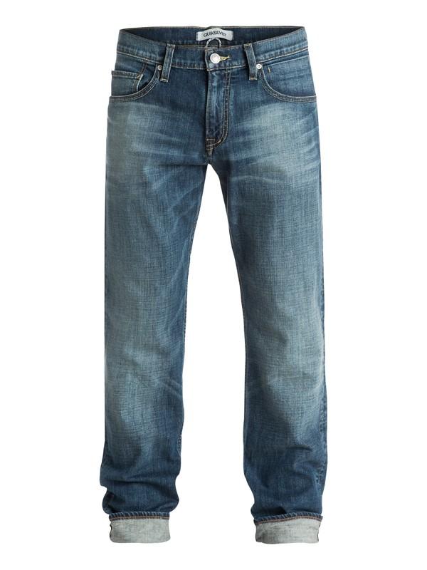 "0 Sequel Medium Blue 30"" Regular-Fit Jeans  EQYDP03156 Quiksilver"