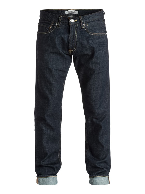"""0 Revolver Rinse 30"""" Straight-Fit Jeans  EQYDP03157 Quiksilver"""
