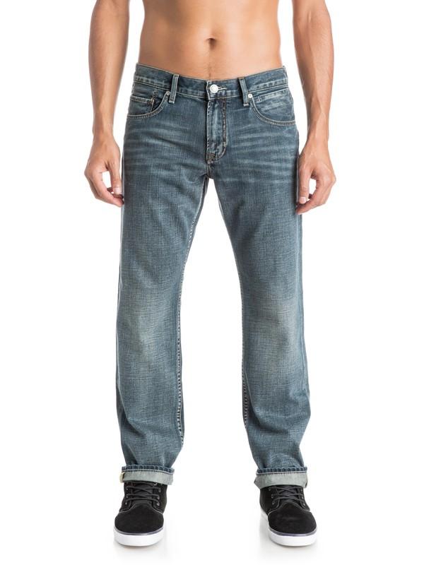 "0 Sequel Vintage Cracked 32"" Regular -Fit Jeans  EQYDP03166 Quiksilver"