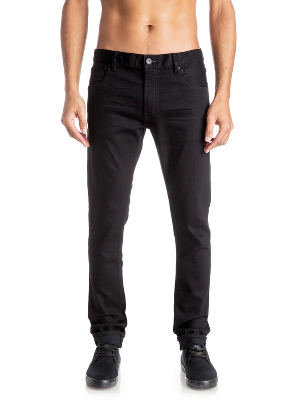 0 Killing Zone True Black - Jean skinny  EQYDP03298 Quiksilver