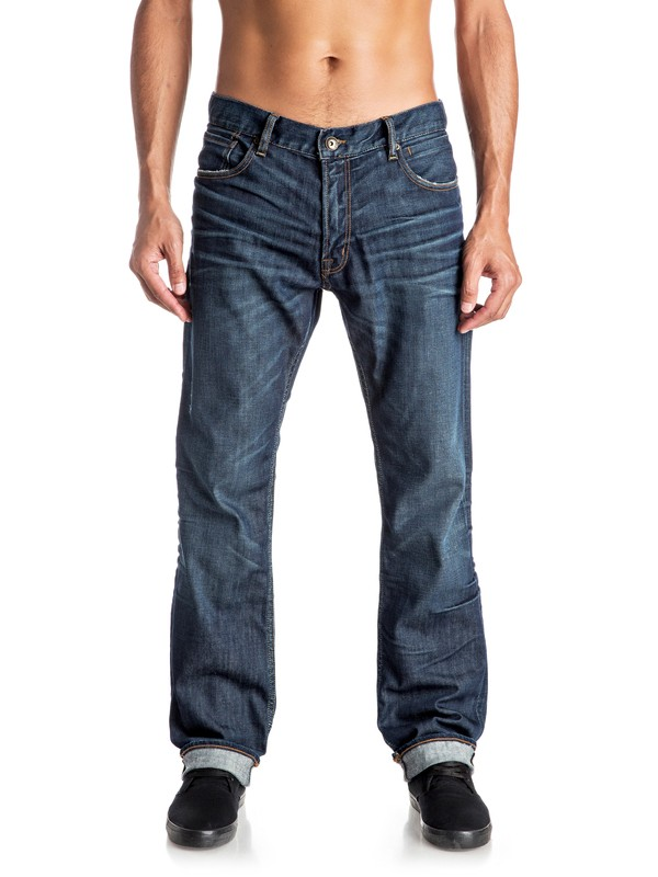 0 The Avalon Agy Blue - Jean ample  EQYDP03307 Quiksilver