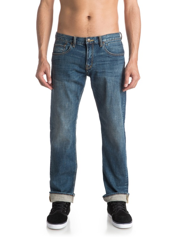 0 Sequel Medium Blue - Jean regular  EQYDP03315 Quiksilver