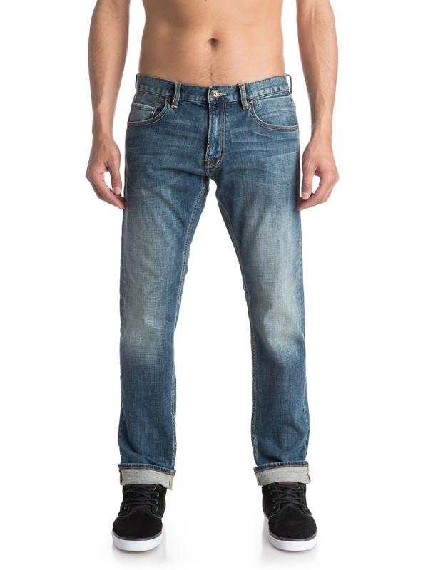 0 Прямые джинсы Revolver Medium Blue  EQYDP03318 Quiksilver