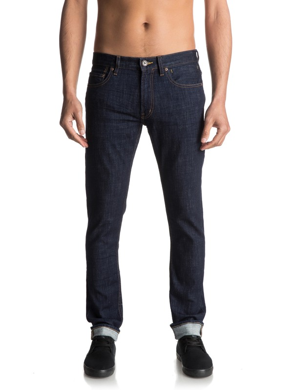 0 Distorsion Rinse - Jean coupe slim  EQYDP03332 Quiksilver