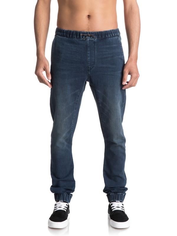 0 Fonic Neo Elder - Pantalon de jogging en denim coupe slim  EQYDP03337 Quiksilver