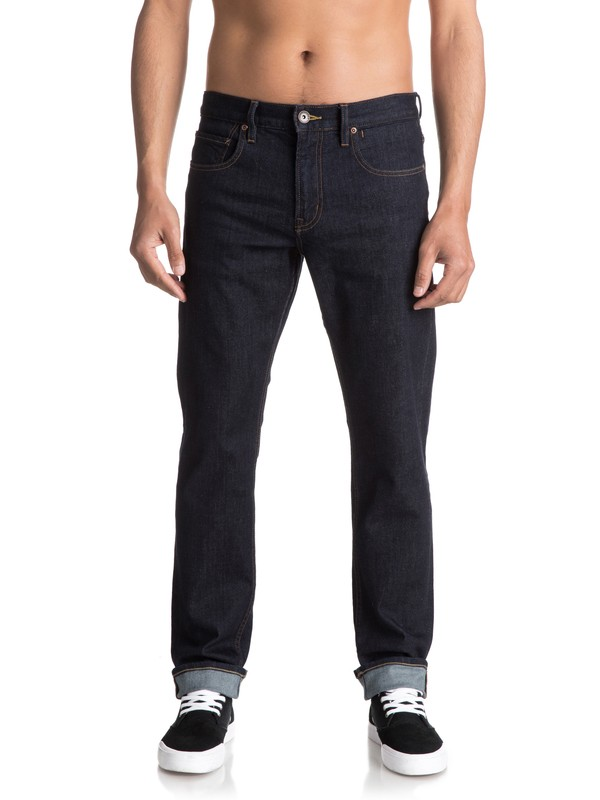 0 Revolver Rinse Straight Fit Jeans  EQYDP03348 Quiksilver