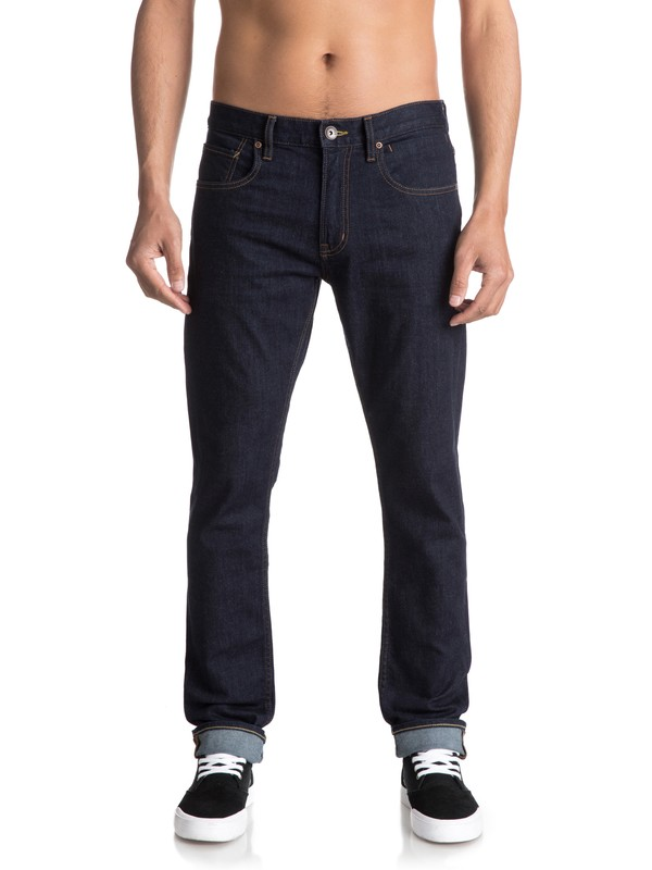 0 Distorsion Rinse - Jean slim  EQYDP03350 Quiksilver