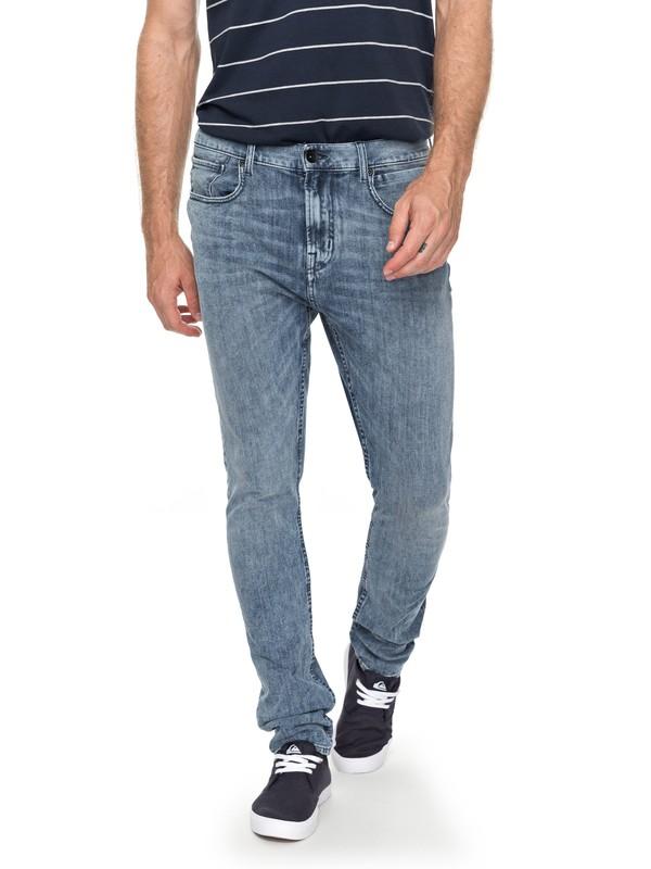 8b35ff7c7f6ab7 0 Low Bridge 90 Summer - Skinny Jeans for Men Blue EQYDP03355 Quiksilver