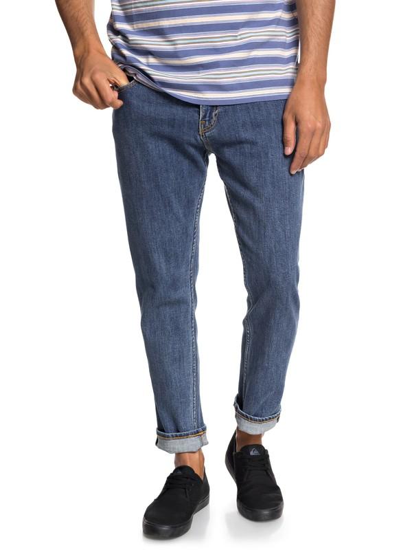 0 Original - Jeans Vestibilità straight da Uomo Blue EQYDP03396 Quiksilver