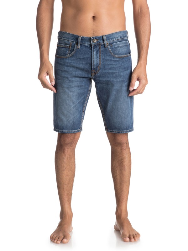 0 Sequel Light Elder - Short en denim Bleu EQYDS03075 Quiksilver