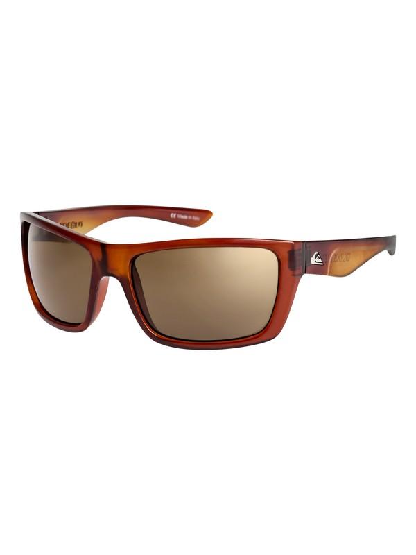 0 Hideout - Lunettes de soleil pour Homme Orange EQYEY03019 Quiksilver