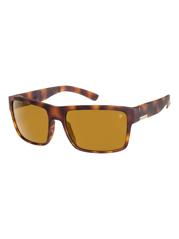 0 Ridgemont Polarised Sunglasses Brown EQYEY03023 Quiksilver