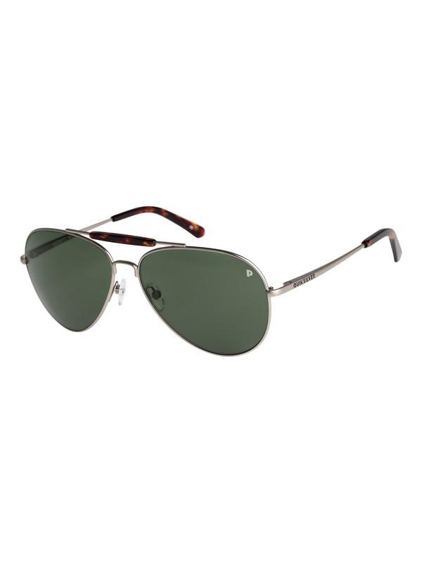 0 Barrett Premium Polarised - Lunettes de soleil pour Homme Gris EQYEY03036 Quiksilver