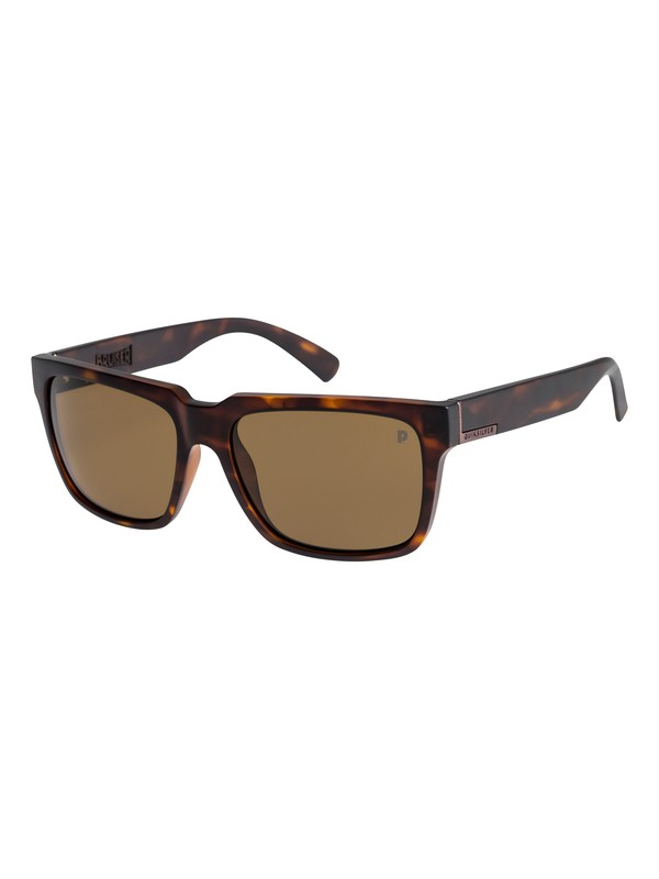 0 Bruiser Polarized Sunglasses Brown EQYEY03076 Quiksilver