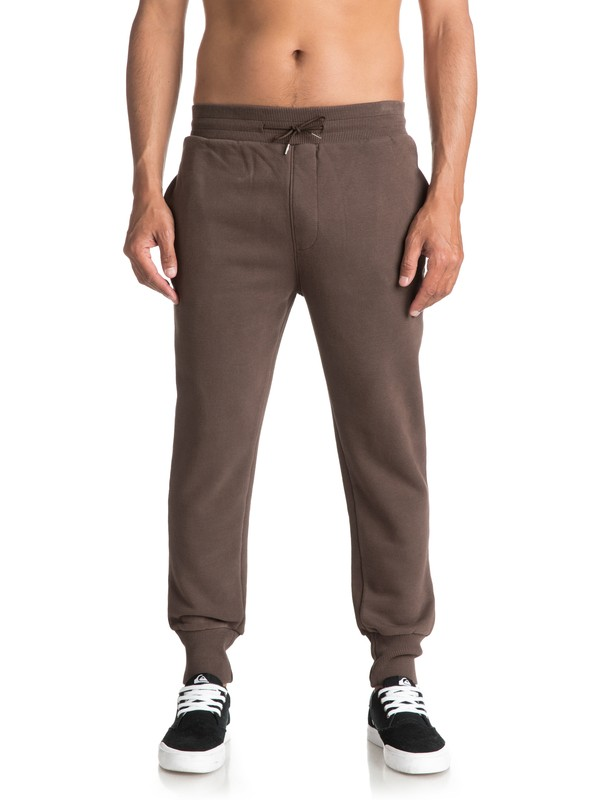 0 Men's Tam Worth Joggers Brown EQYFB03120 Quiksilver