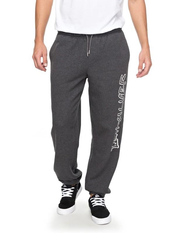 0 Quiksilver - Pantalon de jogging pour Homme Noir EQYFB03137 Quiksilver