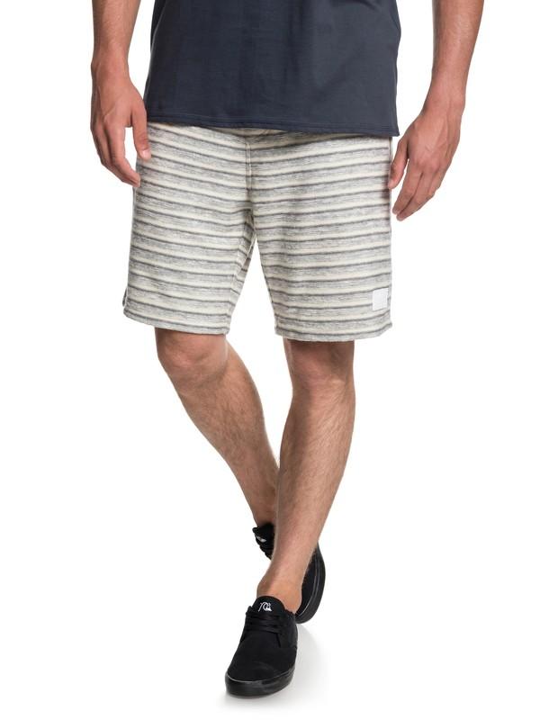0 Harajuku Split Fleece Shorts Black EQYFB03175 Quiksilver