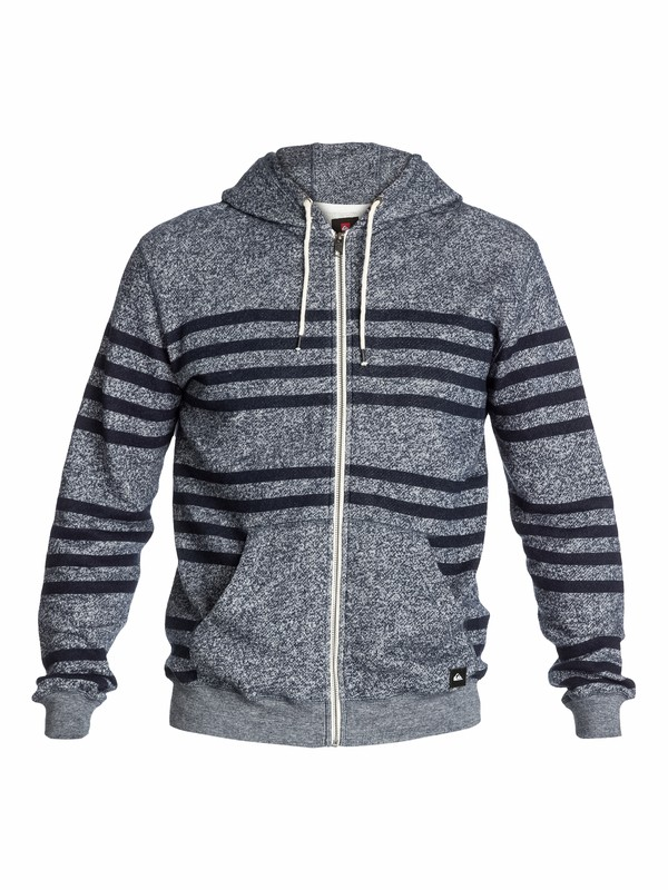0 Major Stripes Zip Hoodie  EQYFT03012 Quiksilver