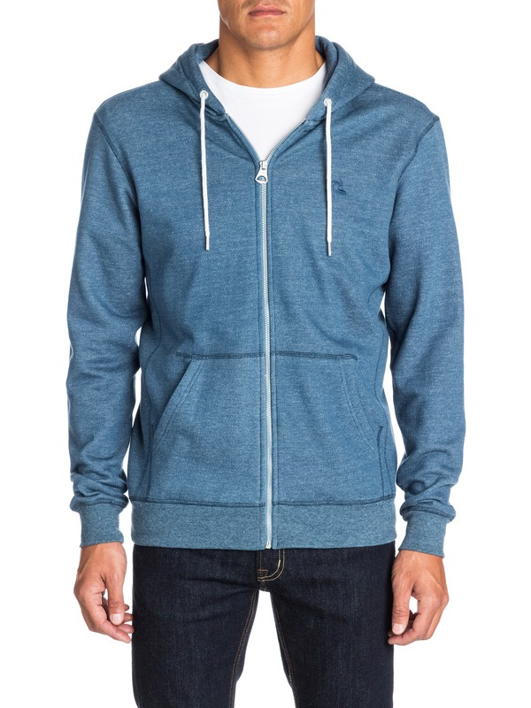 0 Everyday Heather Zip Hoodie  EQYFT03074 Quiksilver
