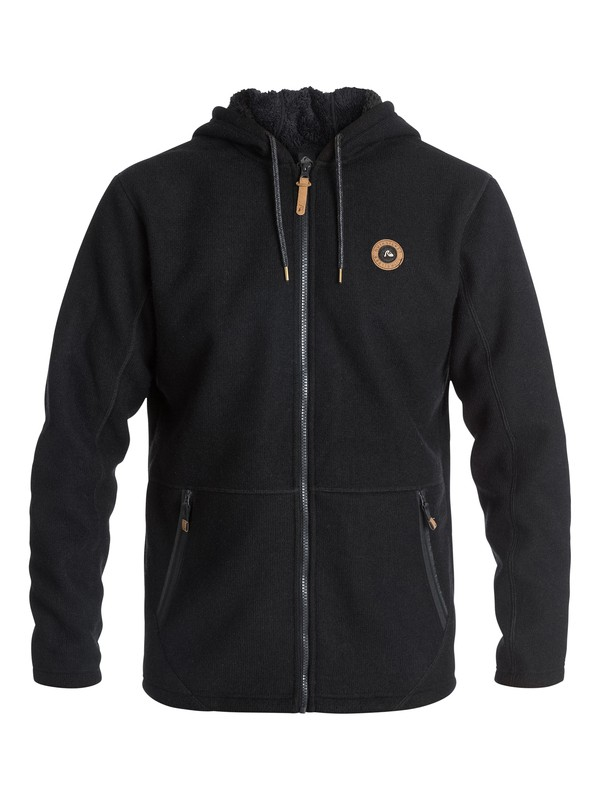 0 Into The Wild - Sweat polaire à capuche zipé  EQYFT03154 Quiksilver