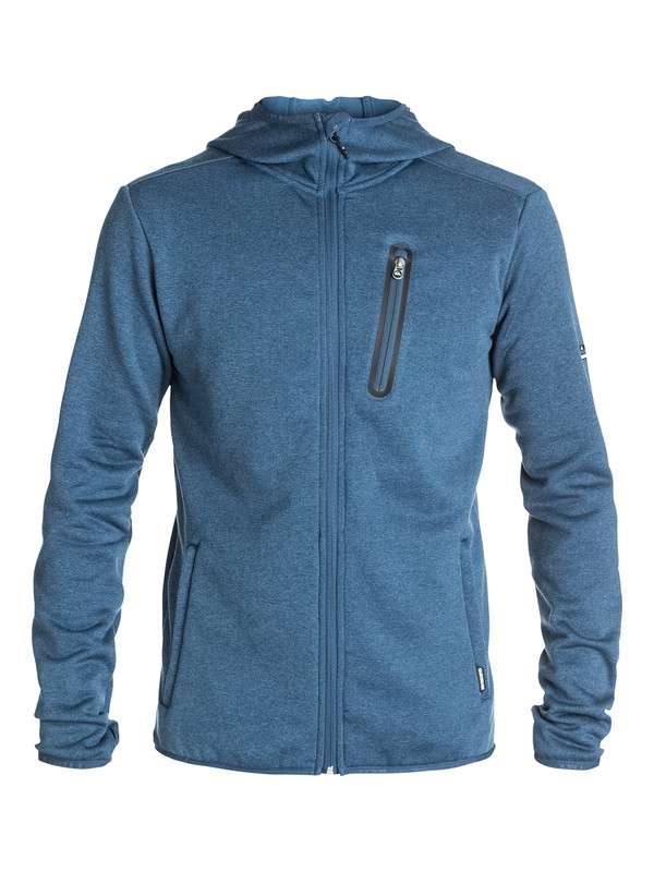 0 Preston Zip-Up Fleece  EQYFT03155 Quiksilver