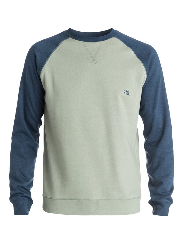 0 Major Block Crew Fleece  EQYFT03187 Quiksilver