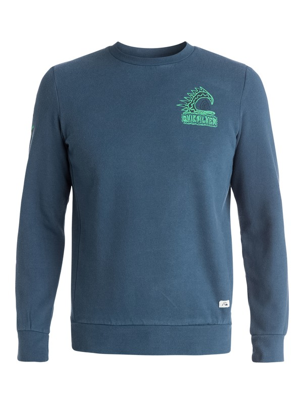 0 War Paint Crew Fleece  EQYFT03191 Quiksilver