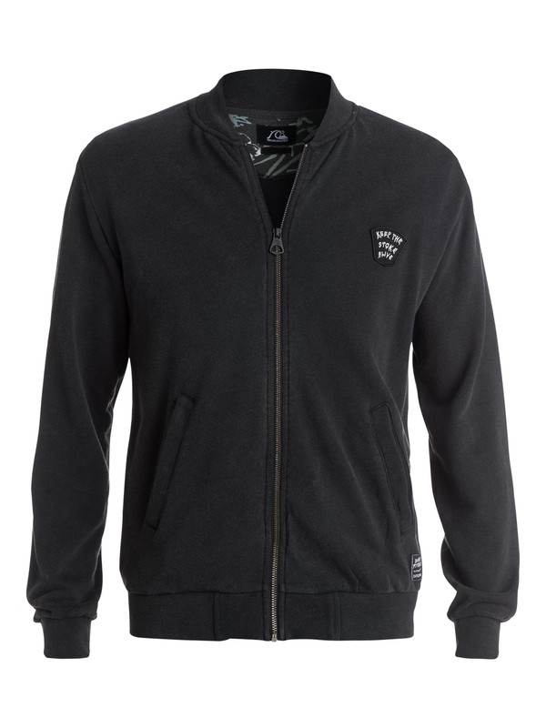 0 Bitter Filth Zip-Up Fleece  EQYFT03198 Quiksilver
