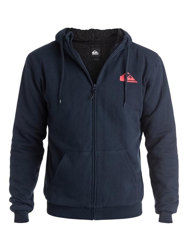 0 Everyday Sherpa - Sweat doublée à capuche zippé  EQYFT03207 Quiksilver