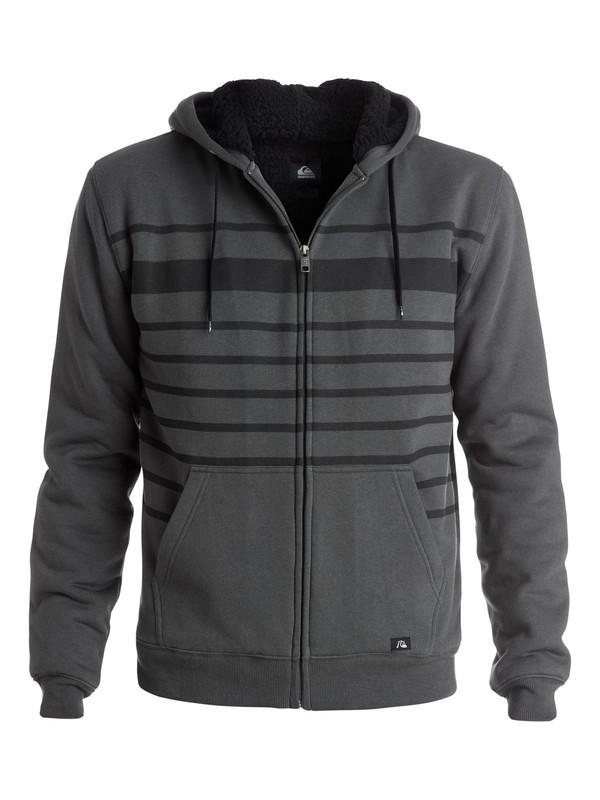 0 Stripe Sherpa - Sweat doublé à capuche zippé  EQYFT03226 Quiksilver