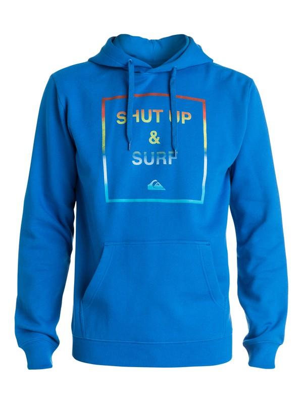 0 Shut Up And Surf - Sweat à capuche  EQYFT03234 Quiksilver