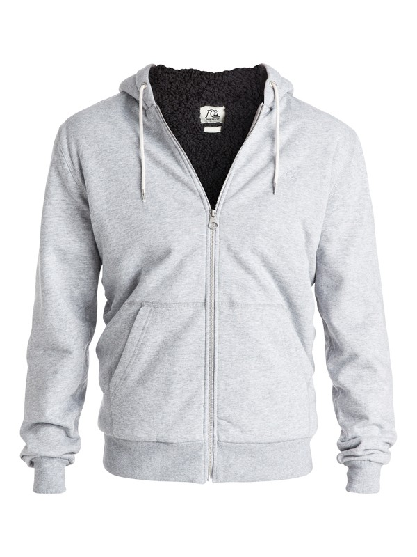 0 Major Heather Sherpa - Sweat doublée à capuche zippé  EQYFT03368 Quiksilver