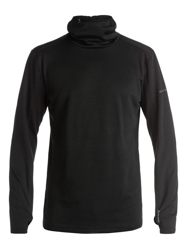 0 Log - Sweat à capuche technique en Polartec  EQYFT03388 Quiksilver