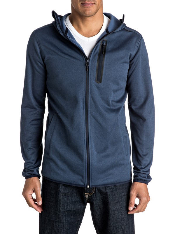 0 Pioneer - Zip-Up Riding Hoodie  EQYFT03389 Quiksilver