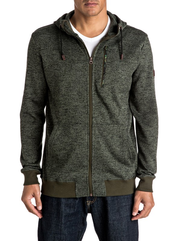 0 Trapper - Sweat à capuche technique zippé  EQYFT03392 Quiksilver