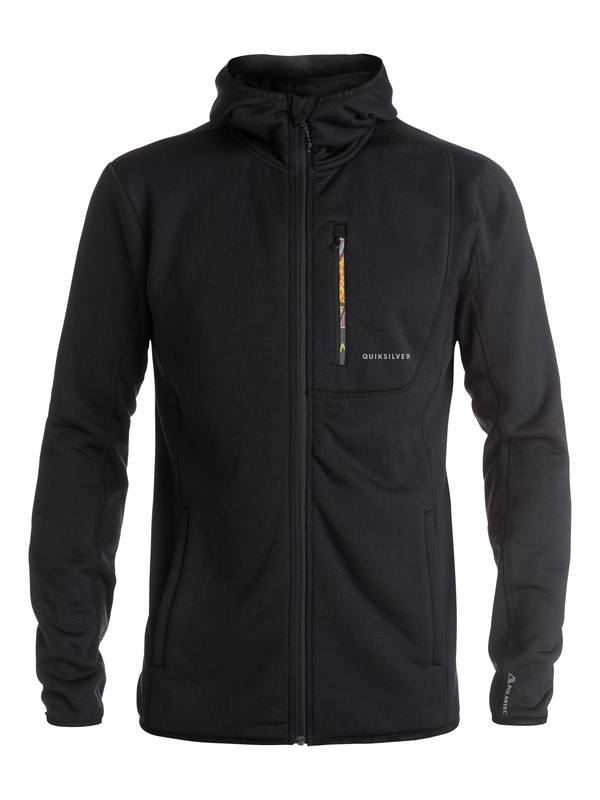 0 Cosmo - Sweat à capuche technique en Polartec  EQYFT03394 Quiksilver