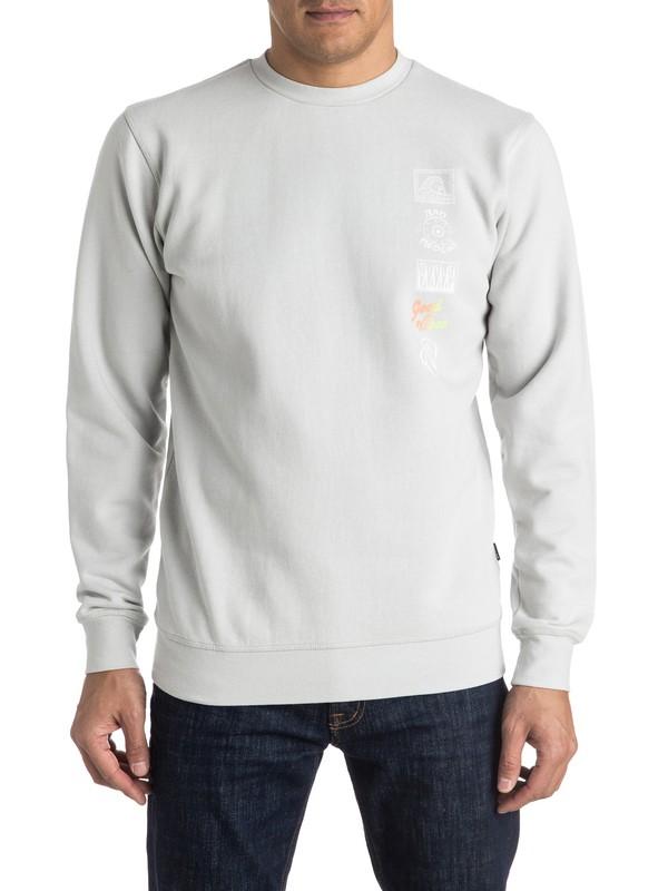 0 Side Track Sweatshirt  EQYFT03425 Quiksilver