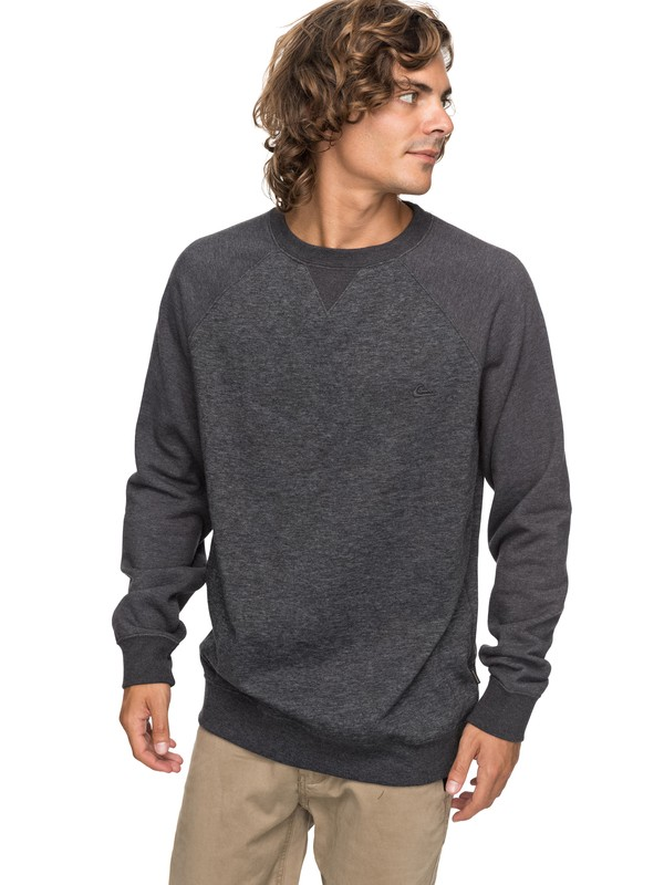 0 Everyday Sweatshirt Black EQYFT03427 Quiksilver