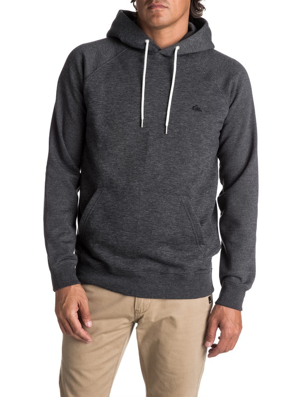 0 Everyday Hoodie Black EQYFT03428 Quiksilver