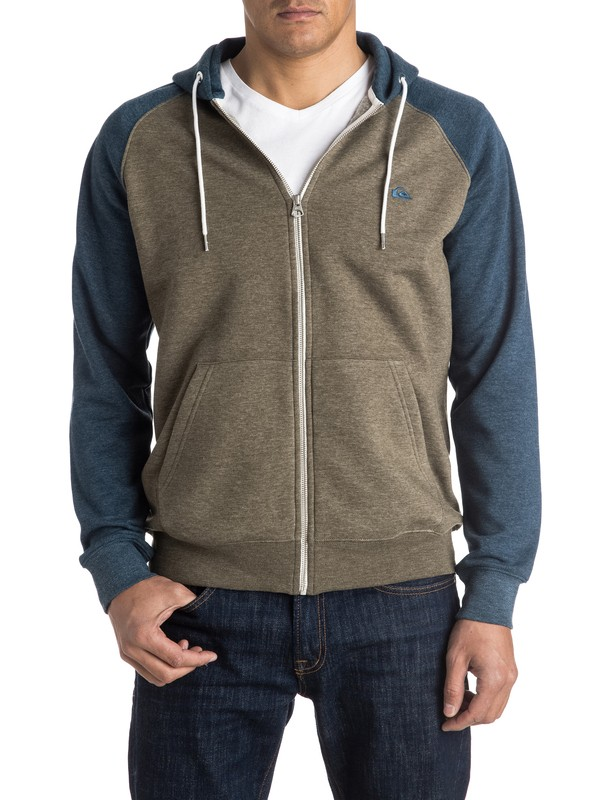 0 Everyday Zip-Up Hoodie  EQYFT03429 Quiksilver