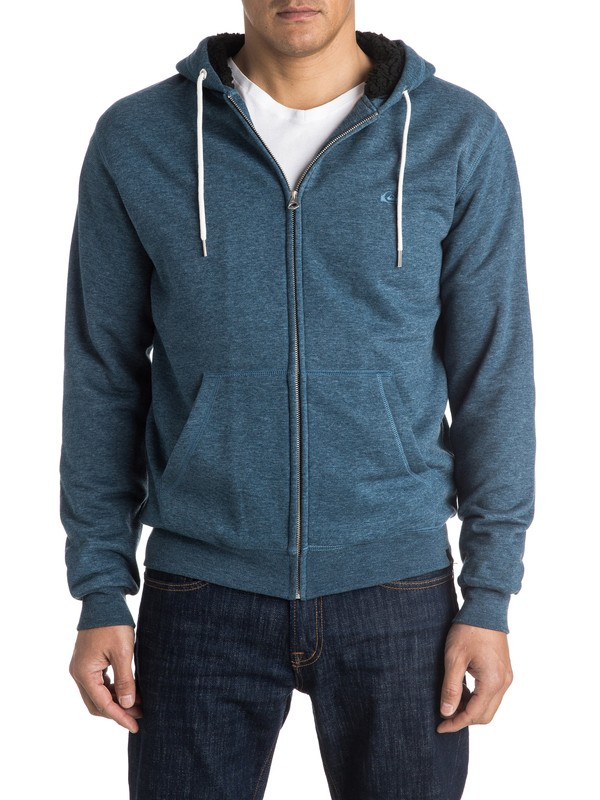 0 Sudadera con capucha Epic Outback Sherpa Zip-Up  EQYFT03430 Quiksilver