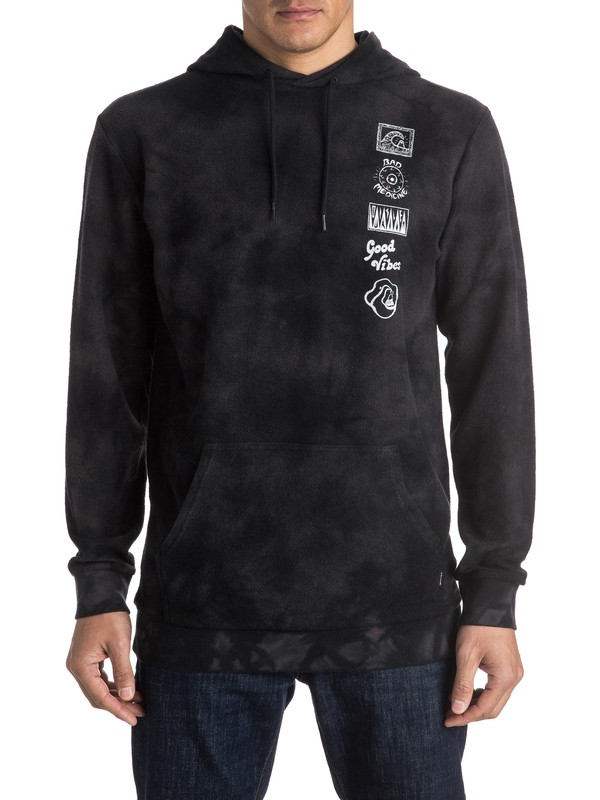 0 Tie And Dye - Sweat à capuche  EQYFT03441 Quiksilver