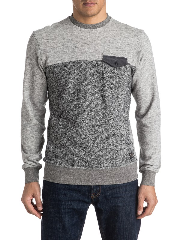 0 Gone Bad - Sweat Noir EQYFT03459 Quiksilver