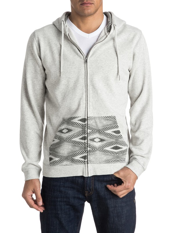 0 Decided Fate Zip-Up Hoodie  EQYFT03475 Quiksilver