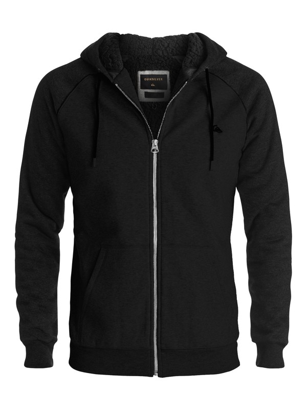 0 Block Outback Sherpa Zip-Up Hoodie  EQYFT03516 Quiksilver