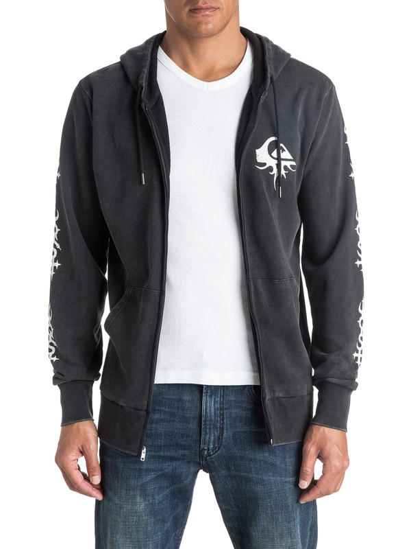 0 Double Take - Sweat à capuche zippé  EQYFT03571 Quiksilver