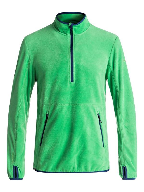 0 Cosmo - Deuxième couche Polartec® à demi-zip pour Homme Vert EQYFT03625 Quiksilver