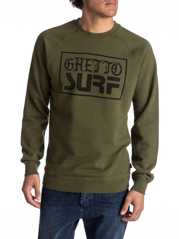 0 Ghetto Surf - Sweat pour Homme  EQYFT03682 Quiksilver
